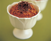 Maya-Mediterranean Chocolate Rice Pudding
