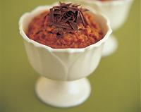 Maya-Mediterranean Chocolate Rice Pudding