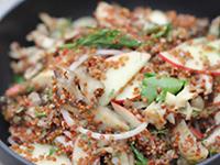 Quinoa-Mushroom Salad
