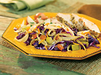 Red Cabbage and Onions with Apples & Apricots