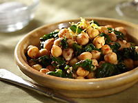 Sicilian Chickpeas and Spinach