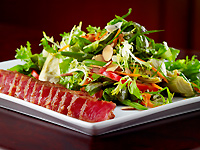 Blackened Ahi Tuna Salad