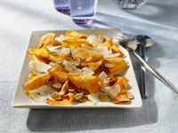 Sweet Potato Saute with Grana Padano and Toasted Almonds