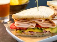 Turkey Diablo Sandwich