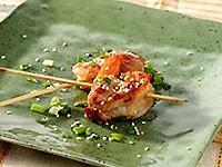 Lemon Grass & Ginger Marinated Turkey & Shrimp Pinwheels