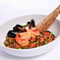 Black-Barley Paella