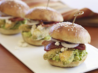 California Avocado Cemita Sandwich