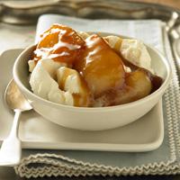 Caramel Cardamom Roasted Pears