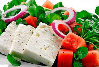 Wisconsin Feta Watermelon Salad