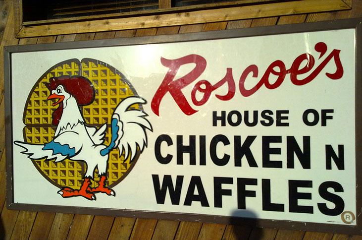 roscoes chicken waffles