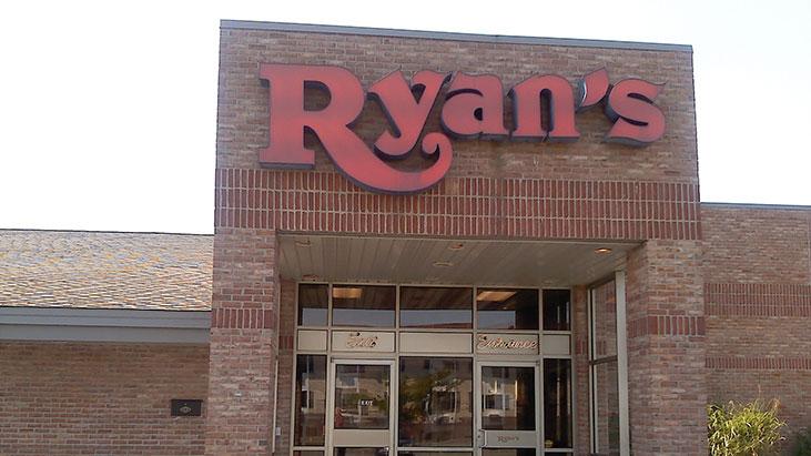 ryans exterior sign