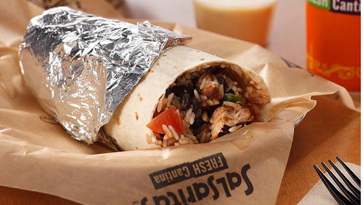 salsarita burrito