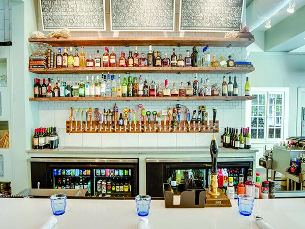 saltine interior bar