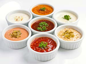 sauce dip spread dressing mayo restaurant signature condiment