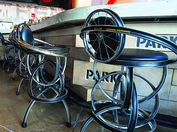 Session Kitchen bar stools