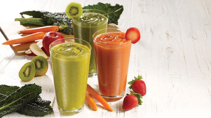 smoothie juice veggies