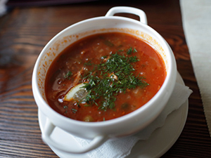 soup restaurant salad lunch