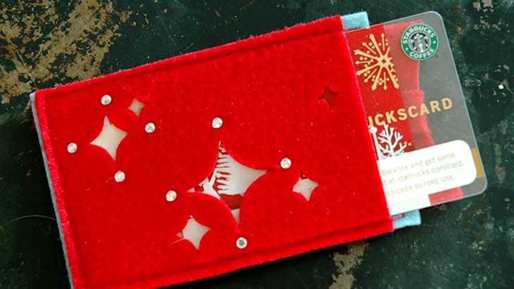 starbucks holiday gift card
