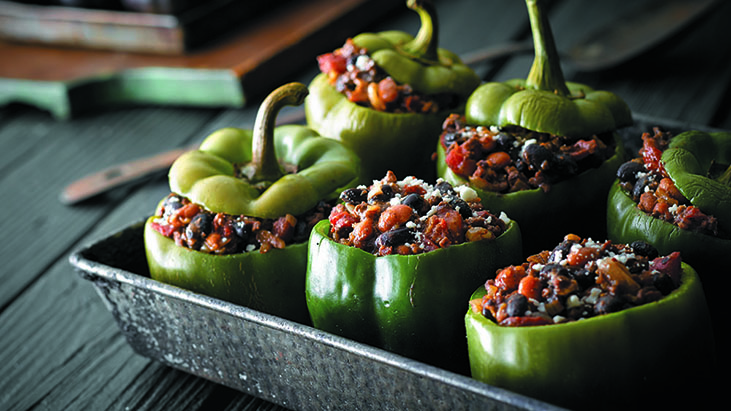 stuffed bell peppers ethnic appetizers