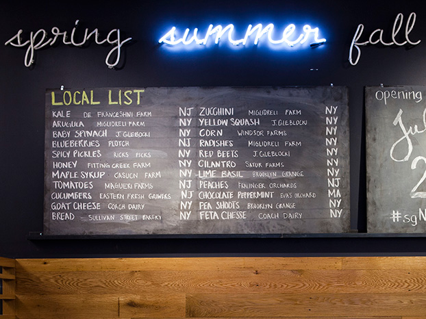 sweetgreen local list