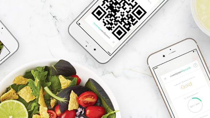 sweetgreen phones qr code