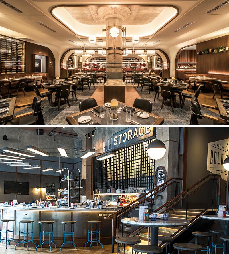 Swift & Sons / Cold Storage restaurants