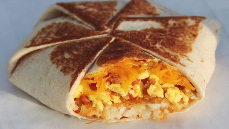 taco bell am crunchwrap