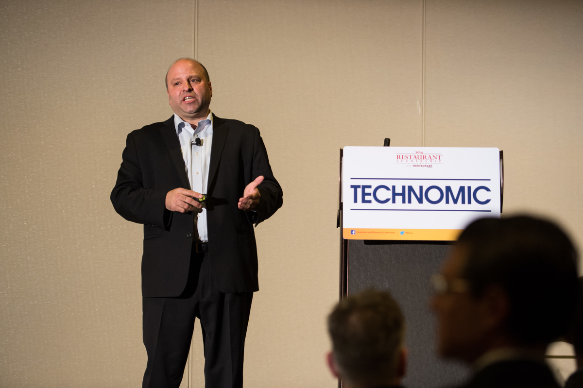 Darren Tristano, Technomic, at Restaurant Leadership Conference, RLC