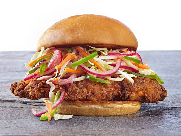 the organic coup chicken sandwich