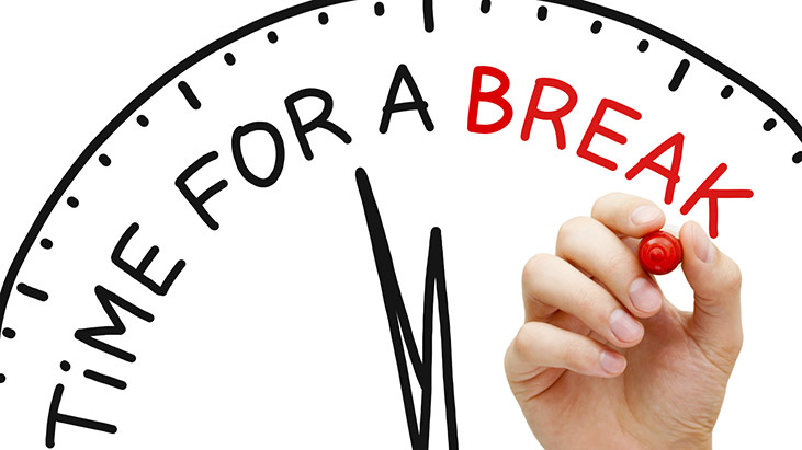 time for break