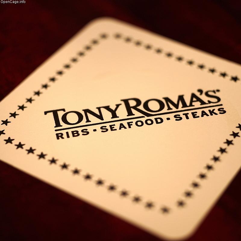 tony romas coaster