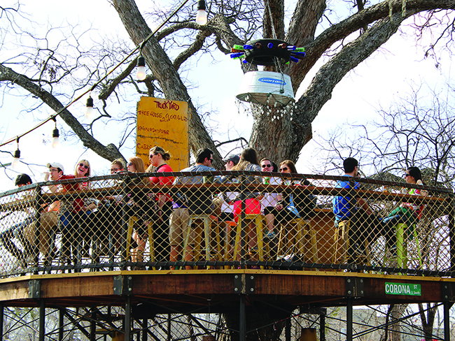truck yard treehouse