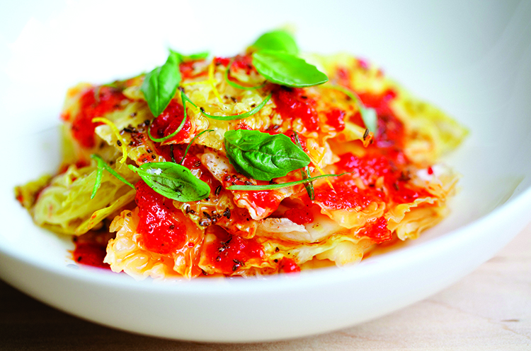 Vic's Marinated Cabbage