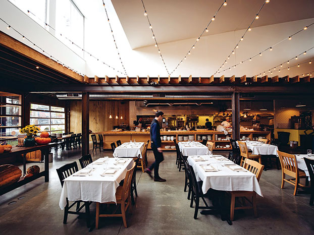 waiter dining room