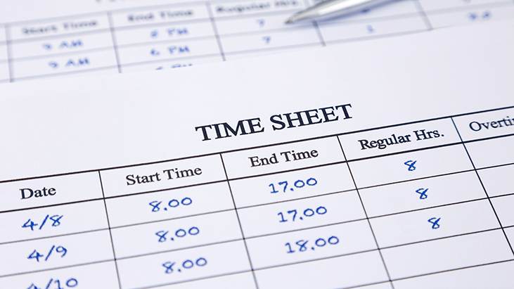 work timesheet