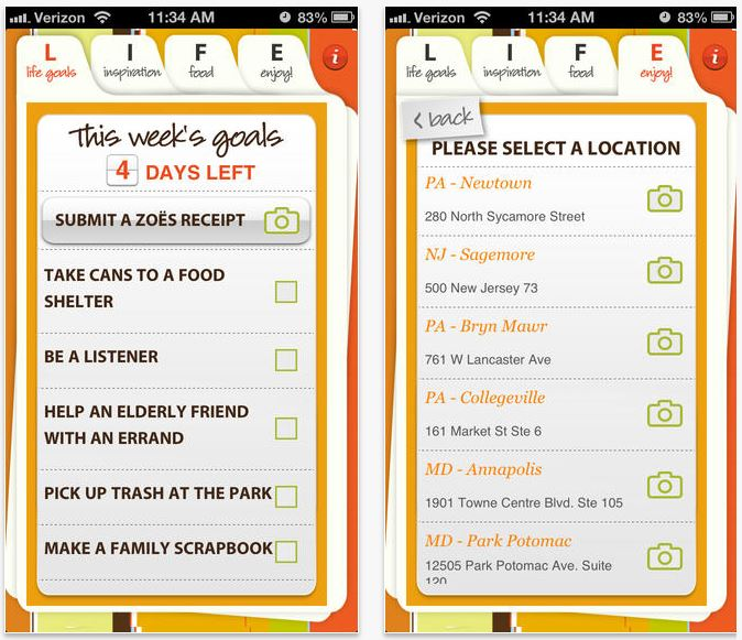 Zoes Kitchen Menu Nutrition: All-star Apps